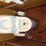 静岡市駿河区中野新田 レストラン洋式トイレ詰り修理