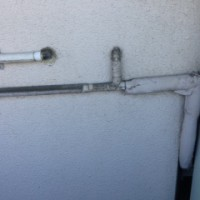 静岡市清水区高橋 アパート給湯管引き直し工事