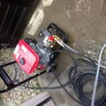 周智郡森町台所排水つまり高圧洗浄作業
