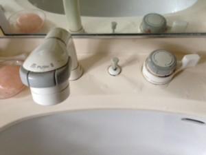 藤枝市上当間洗面蛇口修理