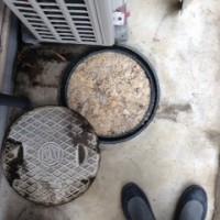 菊川市下平川 ・排水管高圧洗浄作業