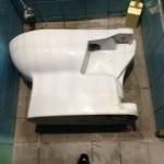 藤枝市駅前 洋式トイレ詰まり修理
