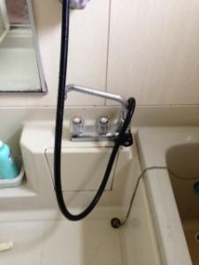 藤枝市 浴室蛇口水漏れ修理