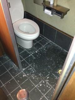 浜松市浜北区内野 洋式トイレ詰まり修理