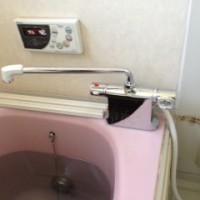 富士宮市外神浴室水栓交換