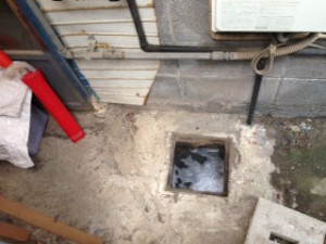 藤枝市五十海排水詰まり修理
