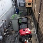 沼津市寿町高圧洗浄作業