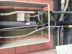 焼津市八楠 飲食店様屋外給湯器給湯管水漏れ修理