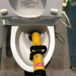 藤枝市岡部町 洋式トイレ詰り修理