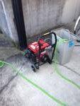 焼津市 排水管高圧洗浄作業