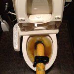 焼津市 洋式トイレ詰り修理
