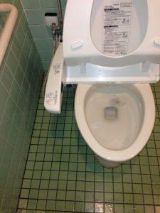 島田市中央町 トイレ水漏れ修理