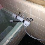 島田市船木 浴室水栓交換(作業後)