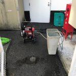 磐田市岩井 高圧洗浄作業