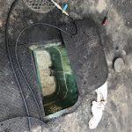 静岡市駿河区小黒 高圧洗浄作業