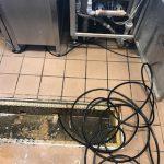 袋井市川合 高圧洗浄作業