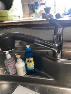 菊川市 台所蛇口水漏れの修理