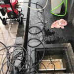 掛川市西郷 排水管高圧洗浄