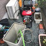 静岡市葵区籠上 高圧洗浄