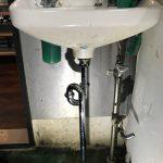 富士市 手洗排水水漏れ修理