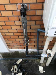 富士市江尾 給水管一部補修