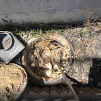 藤枝市城南 高圧洗浄作業