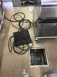 富士市厚原 排水詰まり修理