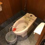 富士市 洋式トイレ詰まり修理