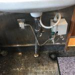 静岡市 手洗い排水水漏れ修理