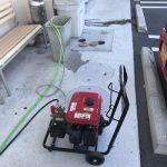 島田市御仮屋 店舗排水管高圧洗浄作業
