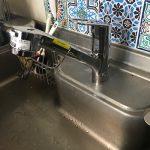 袋井市 台所蛇口水漏れ修理