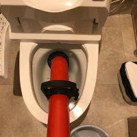 島田市 洋式トイレ詰まり修理