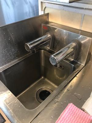 菊川市 厨房蛇口水漏れ修理