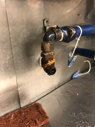 袋井市 店舗給水管修理