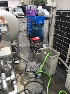 焼津市 店舗排水詰まり修理