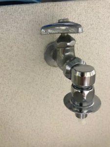富士市 洗濯蛇口水漏れ修理