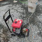 袋井市国本 台所排水高圧洗浄作業