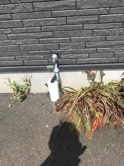 掛川市 水栓柱交換