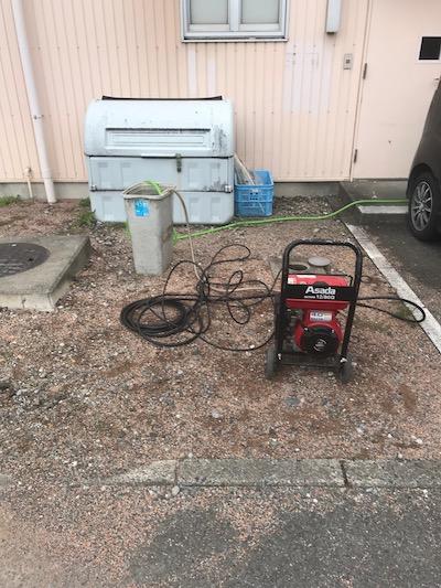 静岡市厨房排水詰まり修理