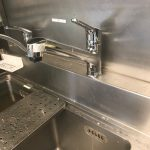 袋井市 店舗厨房蛇口水漏れ修理