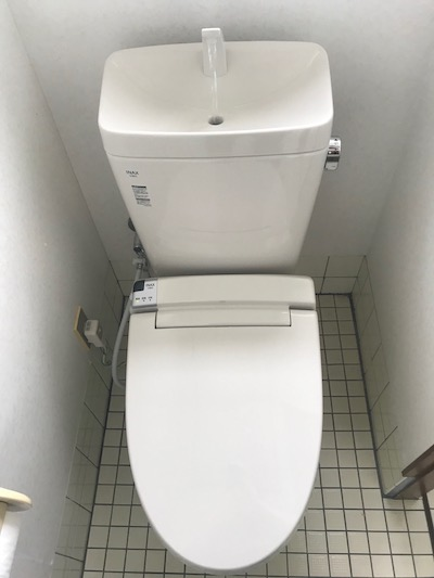 島田市 洋式トイレ水漏れ修理