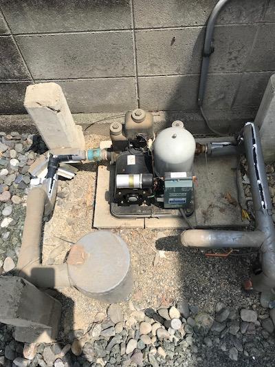 掛川市 井戸ポンプ修理