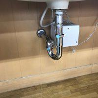 沼津市 洗面排水水漏れ修理