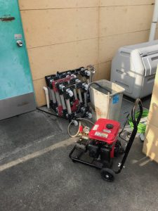 菊川市 店舗厨房排水詰まり修理