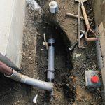 富士宮市青木平 排水管工事