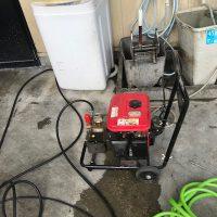 静岡市清水区宮加三 店舗厨房排水高圧洗浄作業