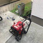 藤枝市大手 高圧洗浄作業