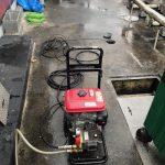 静岡市駿河区中原 高圧洗浄作業
