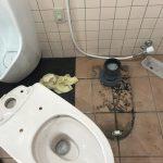 掛川市 店舗トイレ詰まり修理