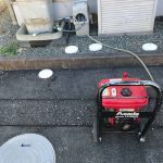 島田市金谷東 台所排水高圧洗浄作業